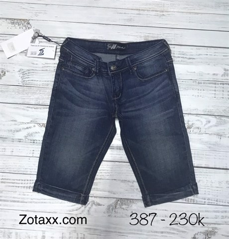 387 - Jeans Lửng RESOURCE Nữ