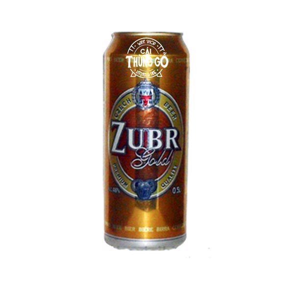 Bia Zubr Gold 500ml