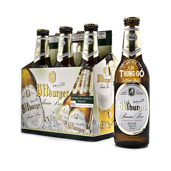 Bia Bitburger 6x330ml - Đức