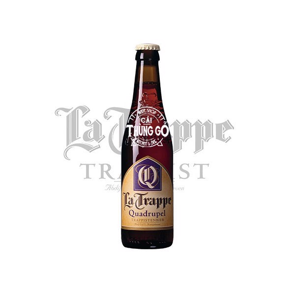 Bia La Trappe Quadrupel 330ml