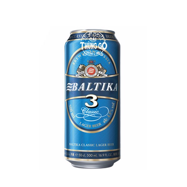 Bia Baltika 3 - 500ml