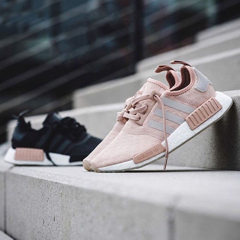 huge selection of 6866c f092e CQ2012] W ADIDAS NMD R1 ASH PEARL PINK – Tramtabo
