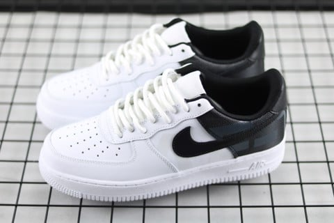 18423b444 [AV8363-100] M NIKE AIR FORCE 1 PREMIUM WHITE BLACK PATCH ...