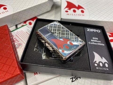 Bật lửa ZIPPO 600 MILLION COLLECTIBLE