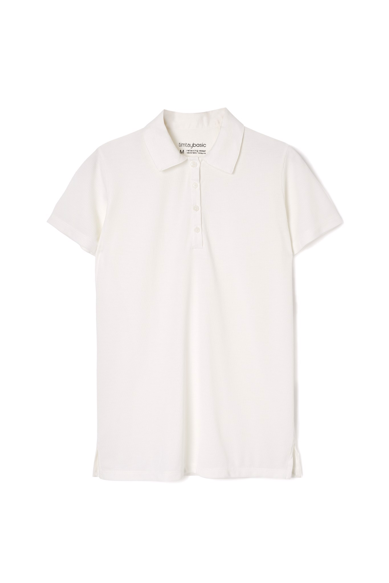 BS - W Polo White