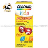 Siro Centrum kids Incremin Iron Mixture Cherry Flavour, Sugar Free