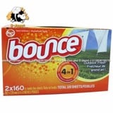 Giấy thơm xả vải Bounce Outdoor Fresh 4 in 1 160 sheets