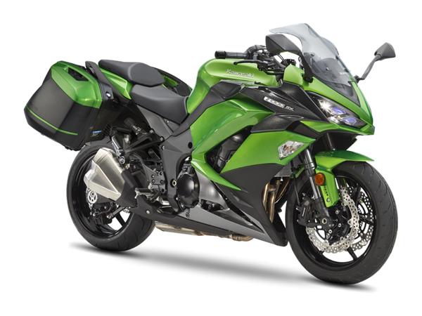 Kawasaki Z1000SX xanh - thùng hành lý – Motorrock.vn