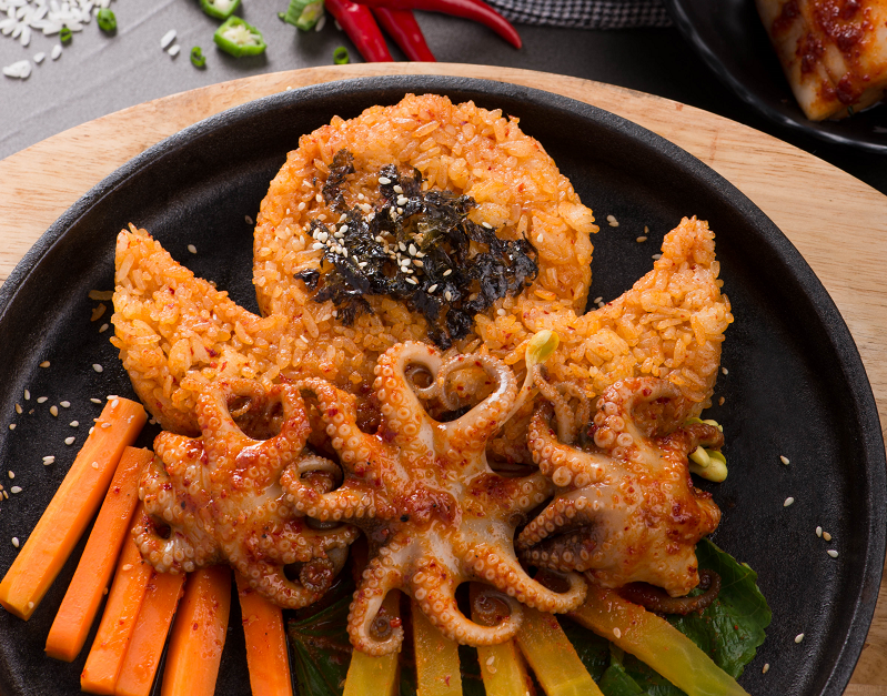 Octopus King's fried rice