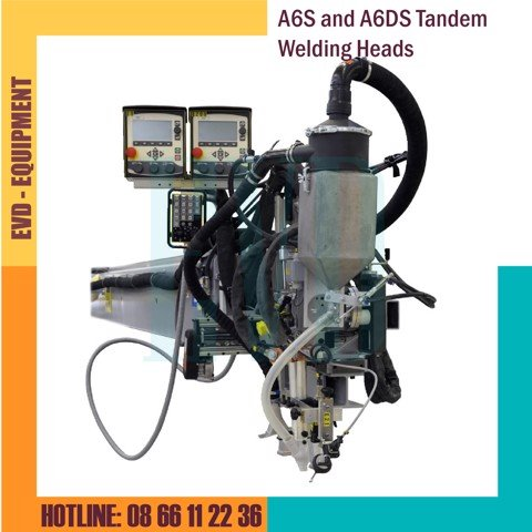 Đầu hàn ESAB - A6S and A6DS Tandem Welding Heads