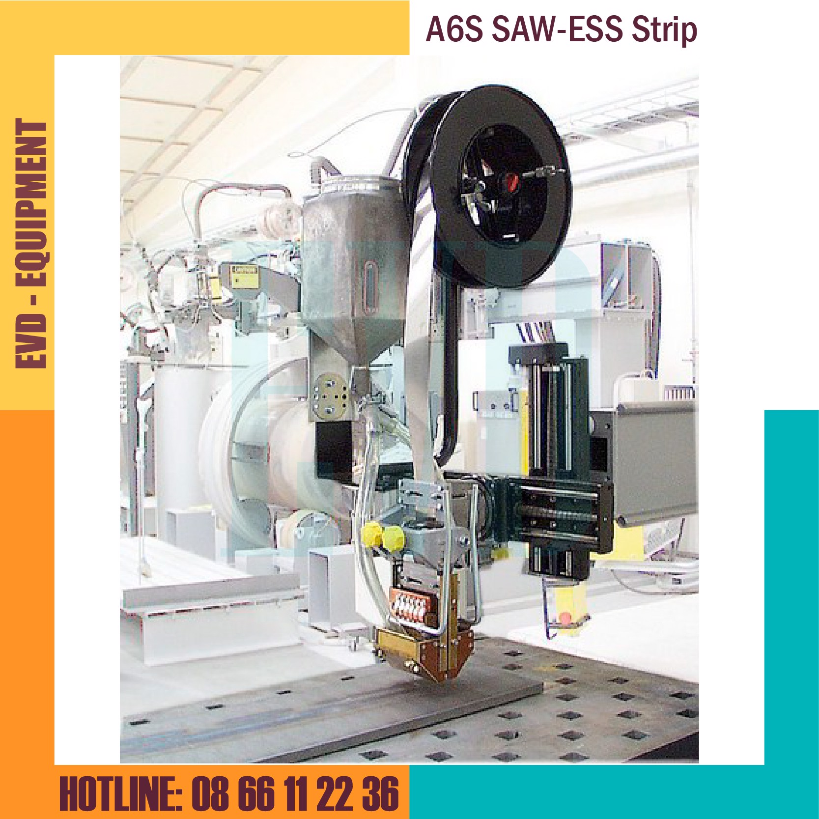 Đầu hàn ESAB - A6S SAW/ESS Strip Cladding Head