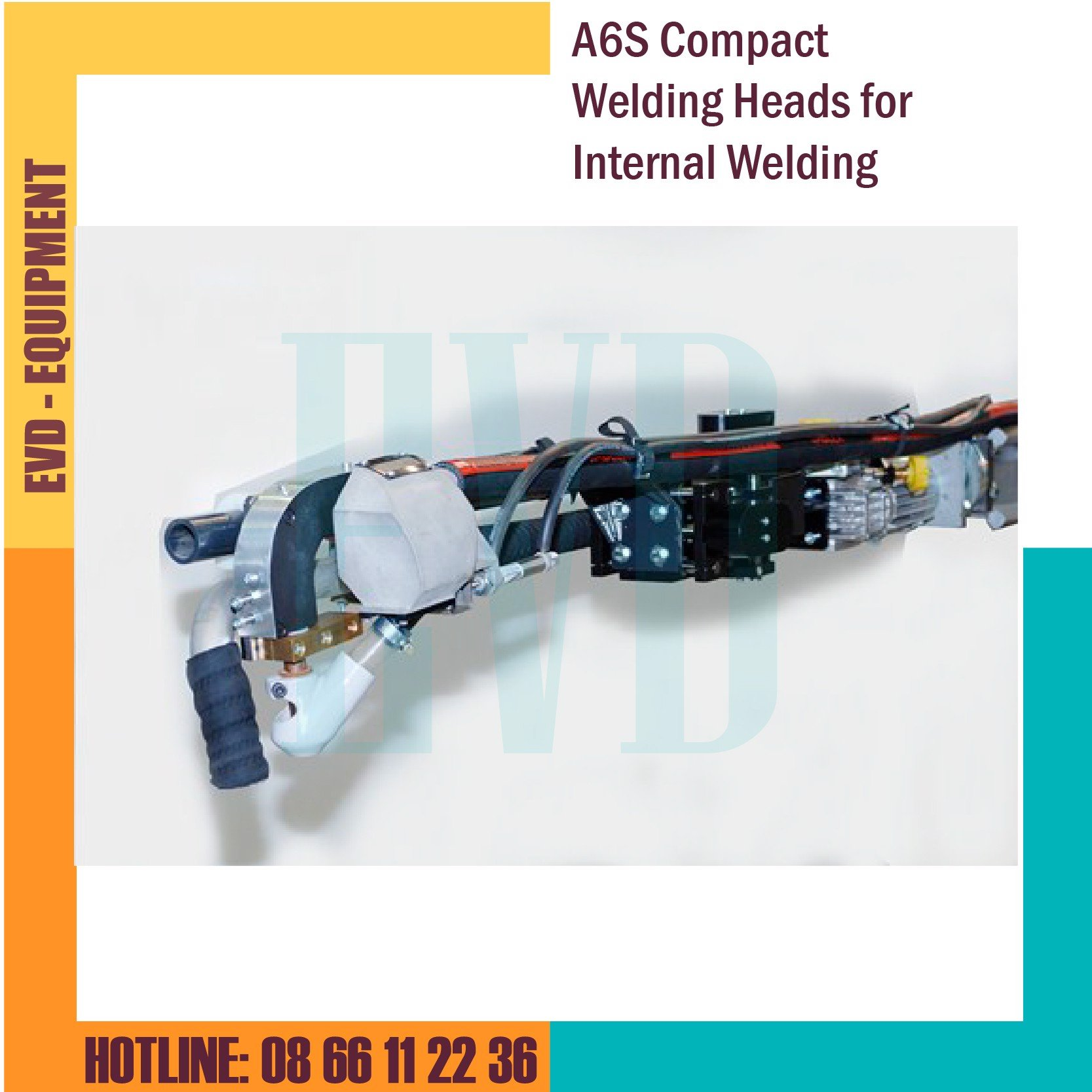 Đầu hàn ESAB - A6S Compact Welding Heads for Internal Welding