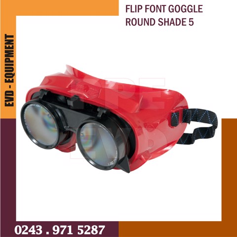 FLIP FRONT GOGGLE ROUND SHADE 5