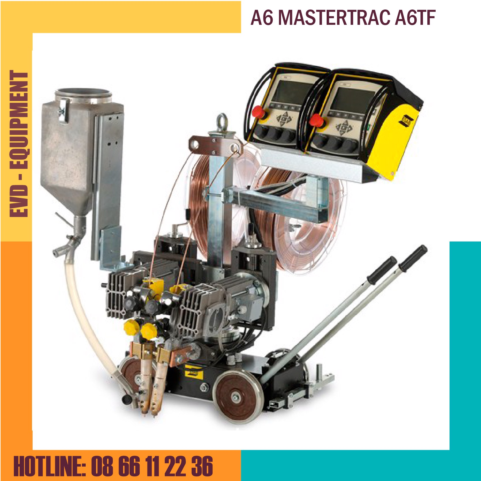 ĐẦU HÀN ESAB - A6 MASTERTRAC A6TF (Single/Twin SAW)