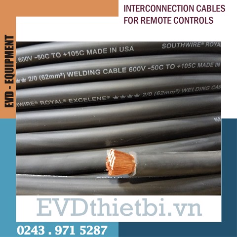 CÁP NỐI ĐIỀU KHIỂN - INTERCONNECTION CABLES FOR REMOTE CONTROLS