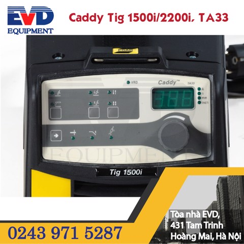 CADDY TIG 1500i/2200i, TA33