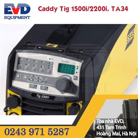CADDY TIG 1500i/2200i, TA34