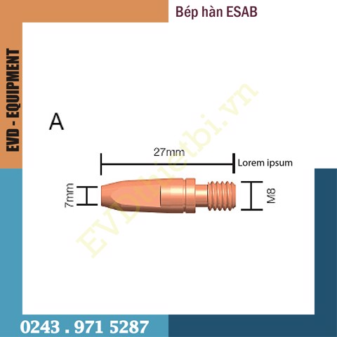 BÉP HÀN - ESAB (CONTACT TIPS)