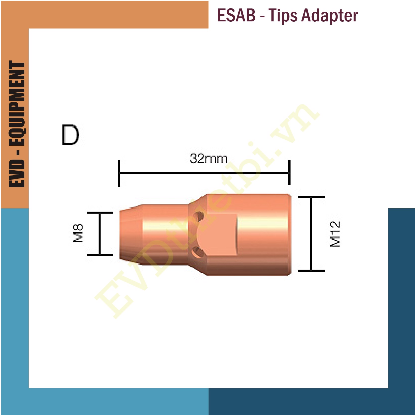 ESAB TIPS ADAPTERS