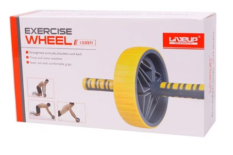 CON LĂN TẬP BỤNG LS3371 - EXERCISE WHEEL