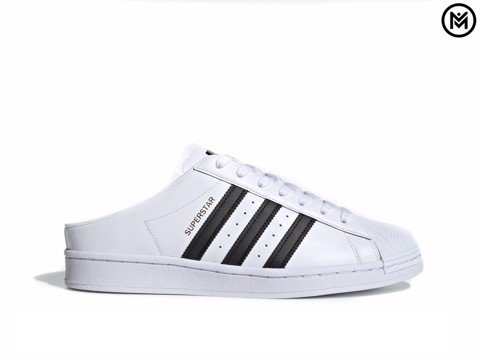 Giày adidas Superstar Slip-On Backless Mule 'White Black'