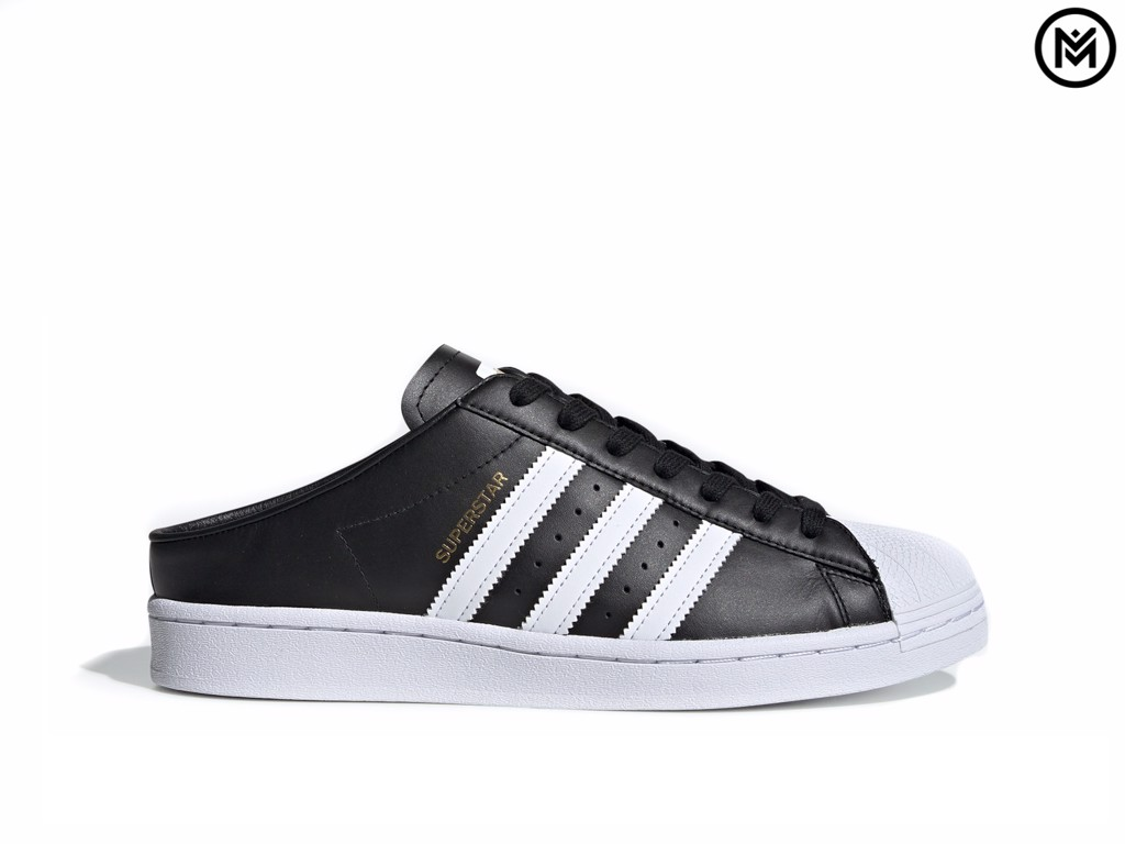 Giày adidas Superstar Slip-On Backless Mule 'Core Black'