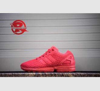 Giày Adidas Zx Flux Woven All Red