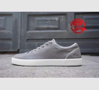 Giày Lacoste  Premium Leather Dark Grey