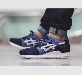 Giày Asics Gel Lyte III Indian Ink/White