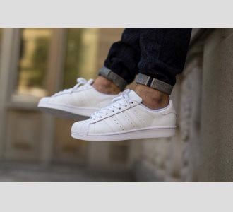 Giày Adidas Superstar All White