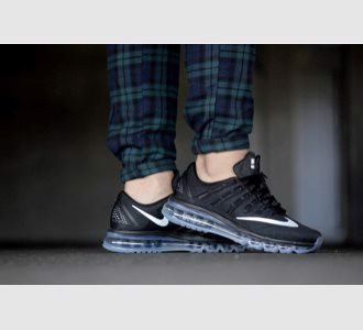 Giày Nike Air Max 2016 Black/ White- Dark Grey
