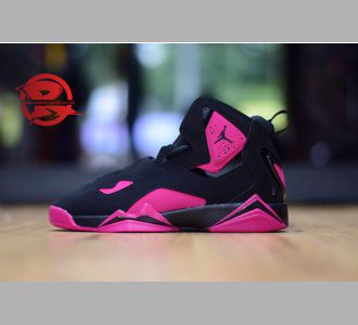 Giày Air Jordan True Flight Black/Pink/Grey