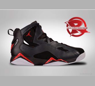 Giày Nike Air Jordan True Flight Black/Red/Grey