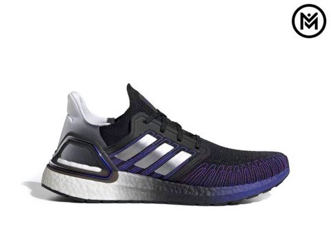 Giày Adidas UltraBOOST 20 ''Core Black/Silver''