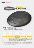 OneKing Wireless Speakerphone KS-GU1G