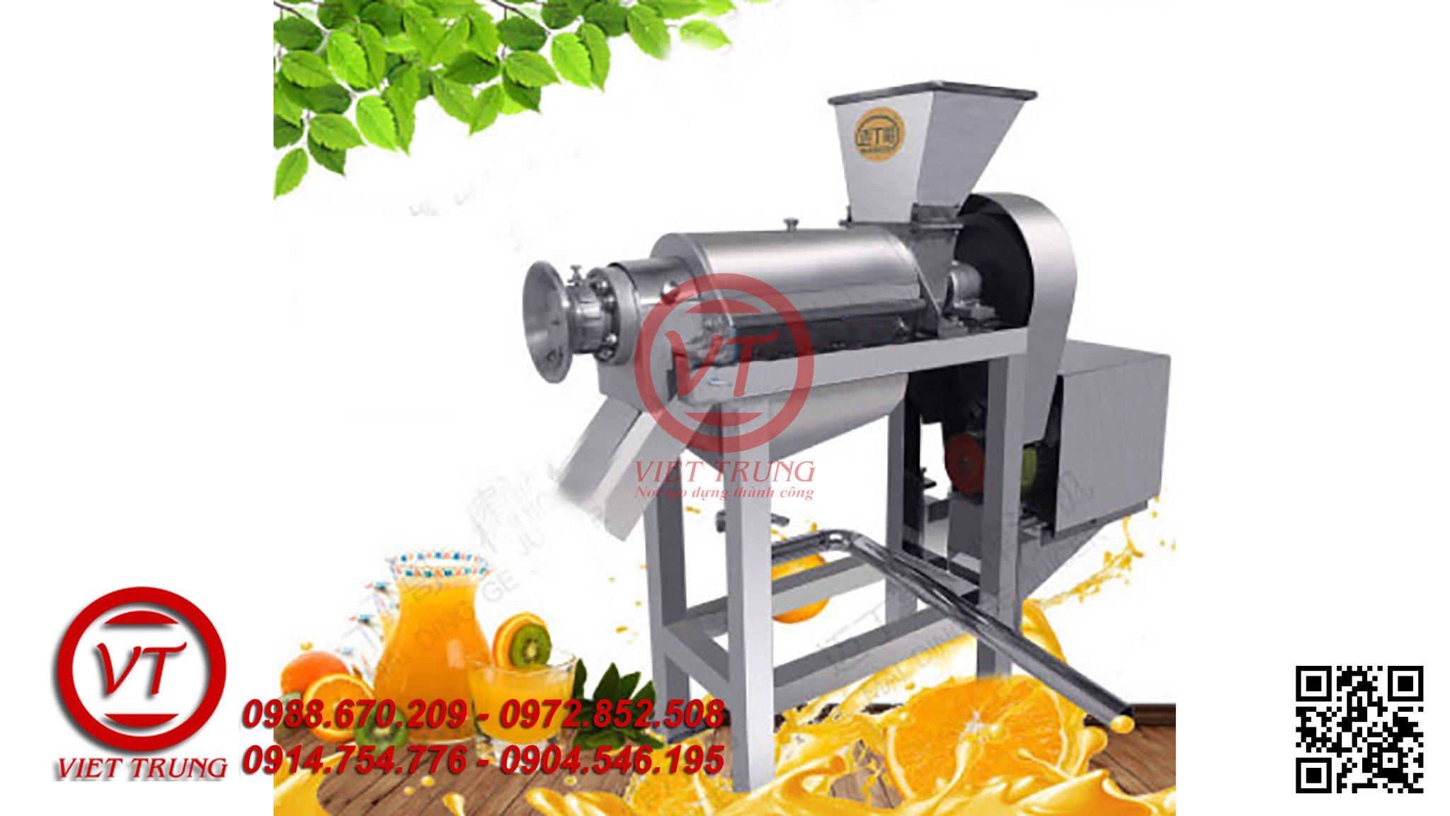 Máy xay, ép trái cây công nghiệp 750kg/h (VT-MEQH03) | Việt Trung –  congnghemayviettrung