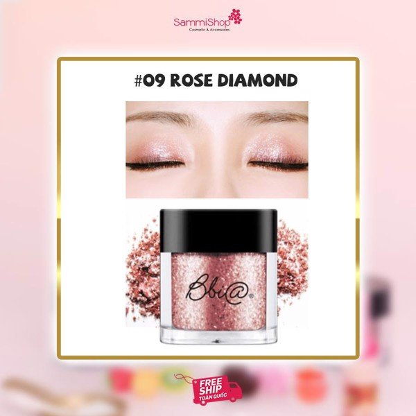 Phấn mắt Bbia Pigment - #09 Rose Diamond (IP01)