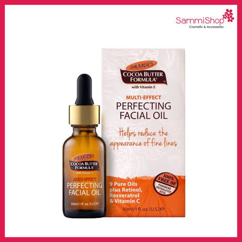 Palmer's Cocoa Butter Formula Multi Effect Perfecting Facial Oil 30ml (Nhập khẩu)