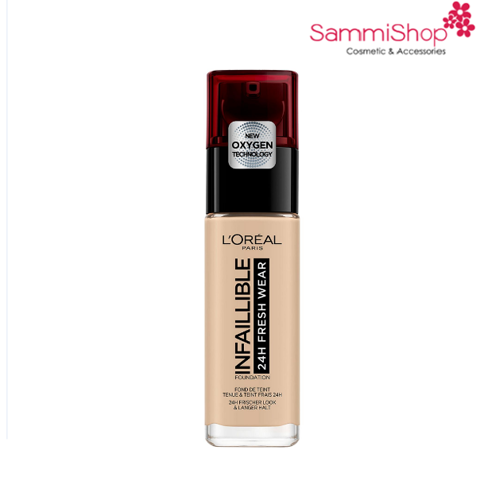 Loreal Infallible 24h Fresh Wear Foundation # 125 Natural Rose