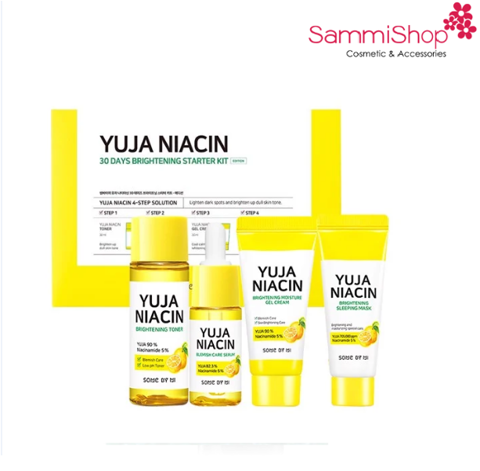 Some By Mi Yuja Niacin 30 Days Brightening Stater Kit-Edition