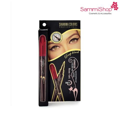 Kẻ mắt Sivanna colors xpress eyeliner pen (HF896)
