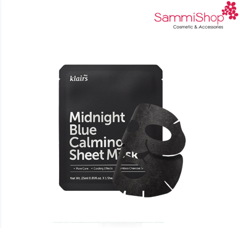 Klairs Midnight Blue Calming Sheet Mask (IP04)