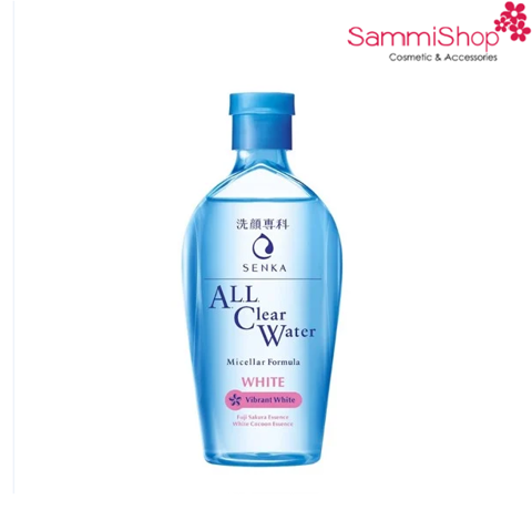 Senka All Clear Water Micellar Formula White 230ml (IP01)