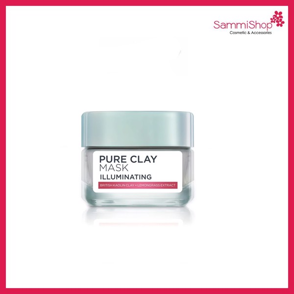Loreal Pure Clay Mask Illuminating (Nhập khẩu)