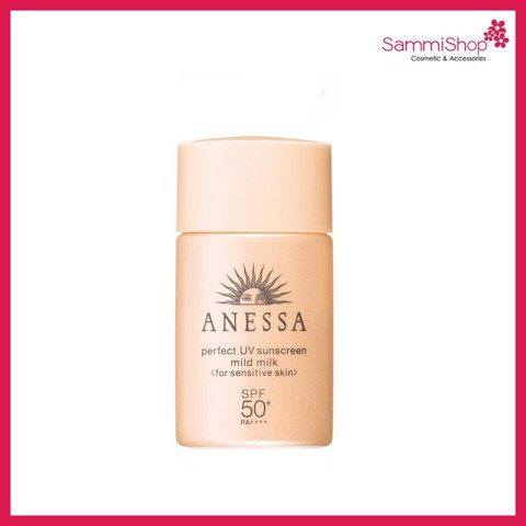 Anessa Perfect UV Sunscreen Skincare Mild Milk 20ml ( Nhập khẩu)