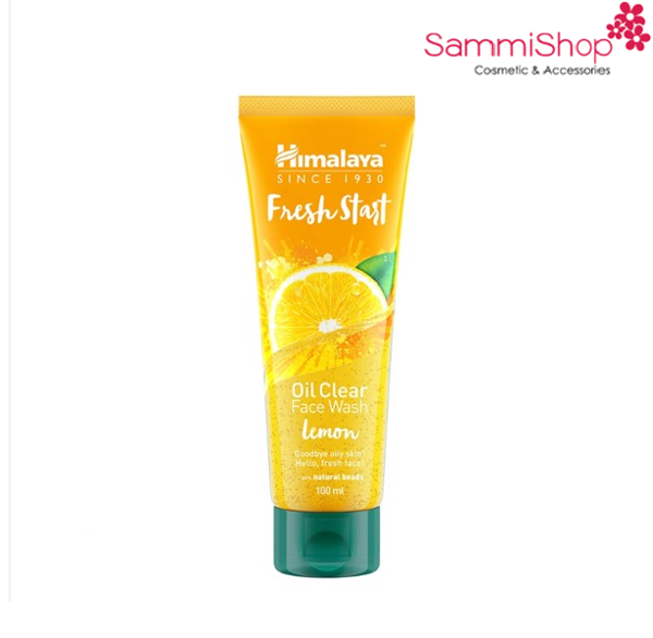 Sửa rửa măt Himalaya Fresh Start Oil Clear Face Wash Lemon (IP02)