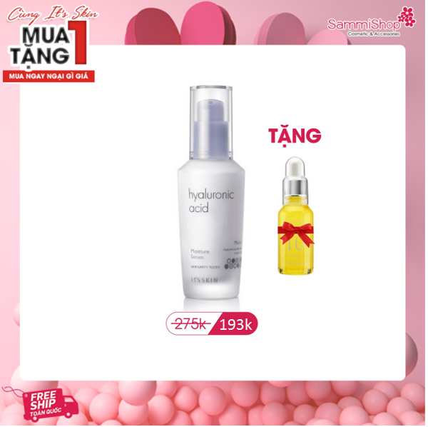 Tinh chất It's Skin Hyaluronic Acid Moisture 40ml (IP01)