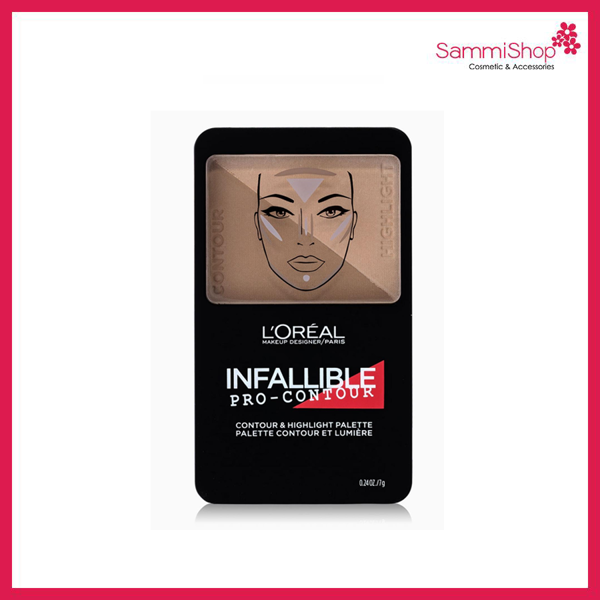 Loreal Infallible Contour & Highlight Palette