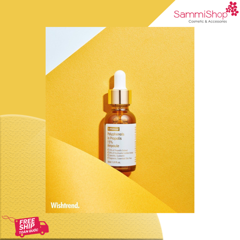 By Wishtrend Polyphenols In Propolis 15% Ampoule 30ml