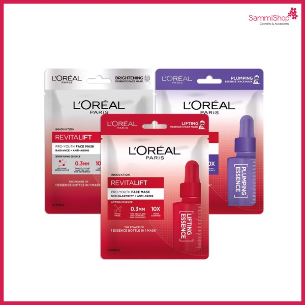 Mặt Nạ Loreal Revitalift Pro Youth Face Mask Radiance Anti Aging Trắng Sáng Da (IP01)